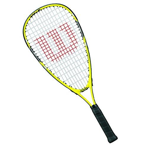 Wilson Squash-Schläger, Mädchen/Jungen, Junge Spieler, Ripper Junior, WRT913000, Gelb/ Schwarz