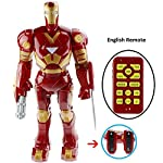 Iron Man Robot With many Interactive Functions: