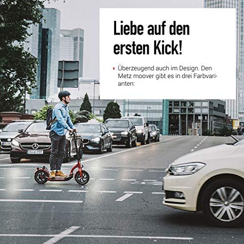 Metz moover | E-Scooter mit Zulassung in DE | Legal, sicher und Made in Germany
