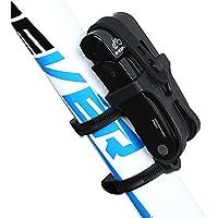 Inbike Candado Plegable Anti-robo con Soporte de Plástico de Acero para Bicicleta(Negro,Anti-hidráulico)