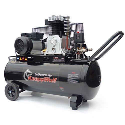 KnappWulf Luftkompressor KW3100 mit 100L Druckbehälter 250L/min