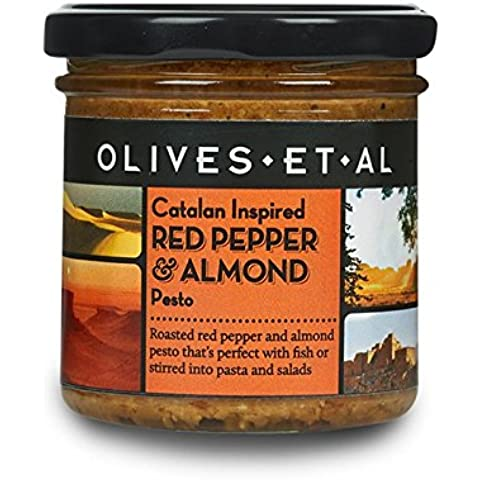 Olives Et Al - Red Pepper & Almond Pesto - 135g