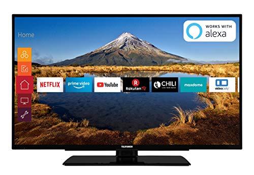 Telefunken XF40G511 102 cm (40 Zoll) Fernseher (Full HD, Triple Tuner, Smart TV, Prime Video) 40 Lcd