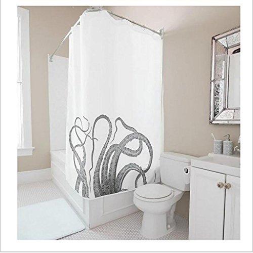 GYMNLJY Poliestere oscurante plissettato di doccia vasca impermeabile per il bagno , 180*180
