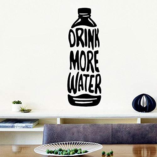 Wandaufkleber Aufkleber Wandgemälde Poster Diy Flasche Wasser Vinyl Tapetenbahn Möbel Dekorative Für Kinderzimmer Wandkunst Aufkleber Wandbilder 125X43 Cm