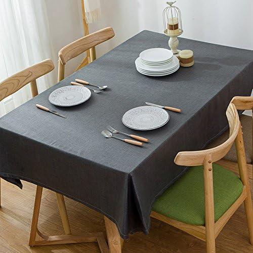 120180 cm nero solido solido solido scandinavo minimalista Instagram Garden picnic rettangolare da pranzo tovaglia in cotone lino quadrato eco-friendly copre B076CGC182 Parent | prezzo di sconto speciale  | comfort  | Forte calore e resistenza all'abrasione  5095a4
