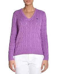 Ralph Lauren Femme V39IE168CE149XW7RW Violet Coton Maille