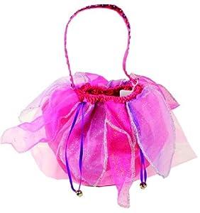Sugar Pie de hadas de la falda del bolso con campanas (Hot Pink/púrpura)