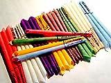 32 Konische Ohrkerzen Ohrenkerzen farbig ZweiohrkerZen® , 16 Paar mit Duft, Trichterform konisch