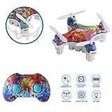WINGLESCOUT Mini Drone RC Mini Giocattole Piccolo con Telecomando 2.4G 4CH a 6...