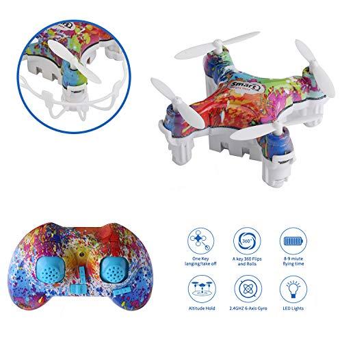 WINGLESCOUT RC Quadrocopter, Cellstar Mini Helikopter Kindgeschenk Geburtstag Ostern Geschenk Mini RC Drohne für Kinder Anfänger