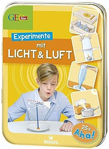 GEOlino Experimente mit Licht & Luft: 25 x Aha! (Wissenschaft Experimente Licht)