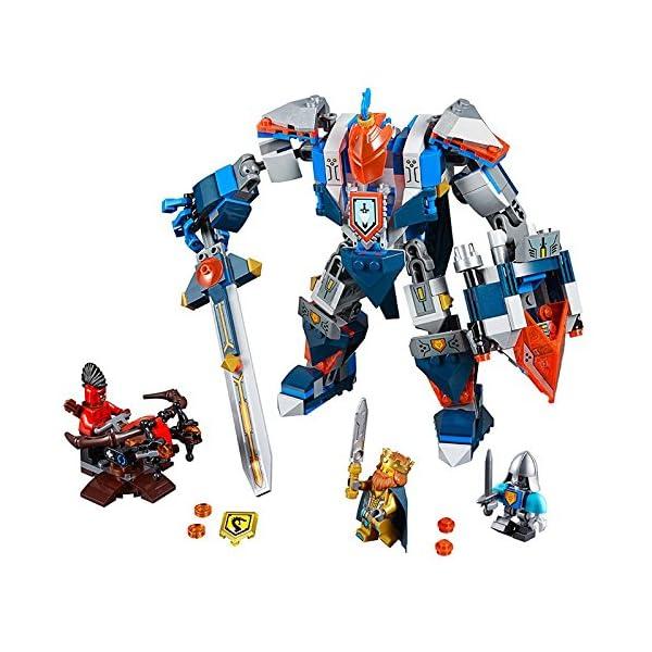 Lego Nexo Knights 70327 - The King's Mech, Set di 3 Figurine Mini 2 spesavip