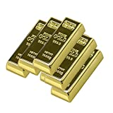 Civetman Metal Gold Bar Shape 4GB USB 2.0 Flash Drive Pendrive