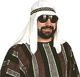 MyPartyShirt Desierto de jeque disfraz para adulto la toca Prince Shiek Sultan juego motivos geométricos de Nicole Ketchum sombrero árabe