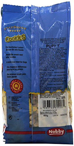 "Nobby StarSnack Cookies ""Puppy"" Beutel 500g, 1er Pack (1 x 0.5 kg) - 3"
