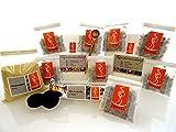 Fumaga - wertvolles 9-/11- teiliges Räucherset mit Räuchermischungen zum Kennenlernen inkl. Zubehör n. Wahl
