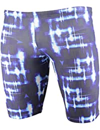 Diana Checked Men Jammer – Blue