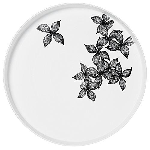 Über 30 Designs (ZUHAUSE Nigra/Blanka Schale groß, Blüten, dia 30cm [D])