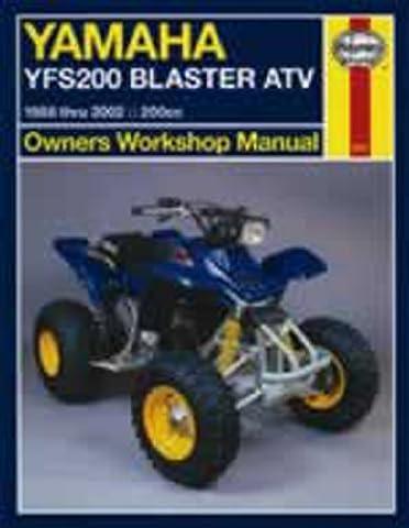 Haynes Manual 2317 YAM VTT YFS200 BLASTER 88-02