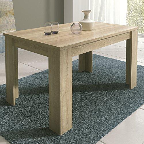 HomeSouth - Mesa de Comedor Extensible, Modelo Corfu Color Cambria, Medidas Mesa:...