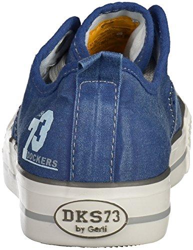 Dockers by Gerli 38ay602-790660, Sneakers Basses mixte enfant Navy