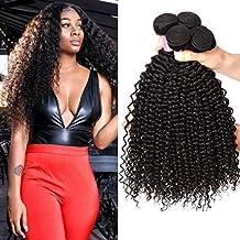 a7de2972ced2 8A Tissage Bresilien Boucle Tissage Bouclé Naturel Tissage Bresilien Kinky  Curly Hair Cheveux Naturel Bresilienne Meches