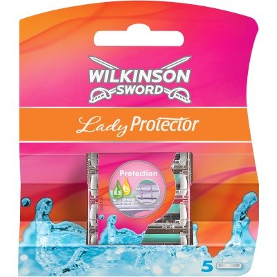 10Wilkinson Sword Lady Protector Replacement Blades (2x Pack of 5)