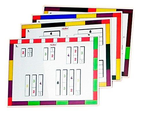"HenBea 858 ""Activity Cards"" Math Game"