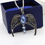 Harry Potter Ravenclaw Lost Diadem Tiara Krone Horcrux Halskette Pullover Kette J