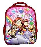 Best Preschool Backpacks - Worldcraft 3D Princess 13 inch Red Waterproof Children's Review