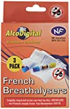 AlcoDigital French NF Approved Breathalyzer Triple Pack (set of 3)