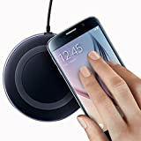 #8: DawnRays™ Presents High Quality Wireless Charger For Wireless Charging Supported Phones Compatible With Samsung S6,S6 Edge, SamsungS7,S7 Edge, Samsung Wireless Charger Note 5,Note 8, S8,S8 plus, Apple Iphone 8,Iphone 8 plus, Apple Iphone X Wireless Charger Come With Feature Ultra Fast Charging,Wireless Charging Stand is Easy To Set Up and Use, Wireless Charging Pad Utilizes Qi Inductive Charging | Wireless Charger For IPhone | Quick Wireless Charger For Samsung |Samsung Wireless Charger |