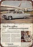 Toddrick 1956 Lincoln Premiere Landau Zinn schicke Zeichen Vintage-Stil Retro Küche Bar Pub Coffee Shop Dekor 8'x 12'