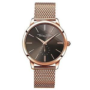 Thomas Sabo Unisex-Armbanduhr Analog Quarz Edelstahl WA0177-265-206-42 mm