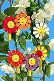 Baumbehang Blüte mit Gesicht auf Klammer, vom Erzgebirge