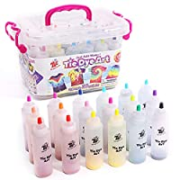 Tie-Dye Art Kit for over 18 Kids to Play, Easy & Fun