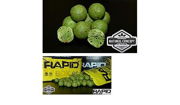 Mivardi 950g Rapid Easy Catch gelbe 24mm Boilie Pineapple N.BA.