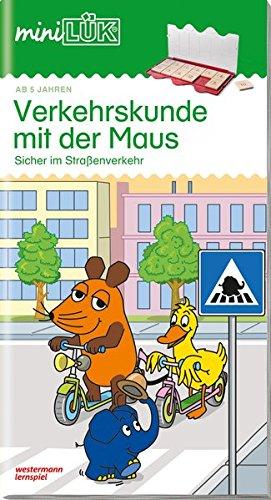 miniLÜK / Schuleingangsphase: miniLÜK: Verkehrskunde mit der Maus 1: Sicher im Straßenverkehr für Kinder ab 5 Jahren