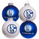 Christbaumkugel Set Schalke 04 4 Stk.