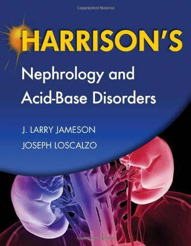 Harrison's Nephrology and Acid-Base Disorders by J. Larry Jameson (2010-06-01)