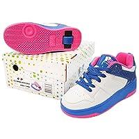 Heelys Kids POP Push Button Roller Skate Shoes POP Trainers 770933P