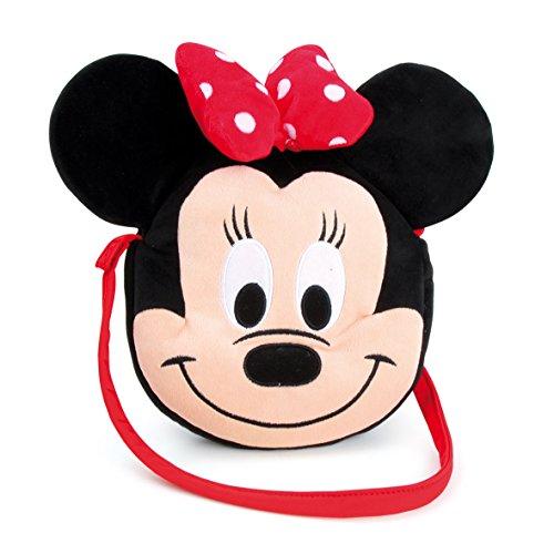 Disney 1200732 - Minnie Viso Come Borsa a Tracolla, 30x5x27 cm