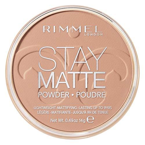 RIMMEL LONDON Stay Matte Long Lasting Pressed Powder - Creamy Beige - Rimmel London Bleiben Matte