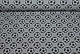 Sweat/French Terry Fußball | 1,50 Meter breit | wird in
