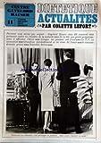 CENTRE GAYELORD HAUSER [No 11] du 01/12/1965 - DIETETIQUE ACTUALITES PAR COLETTE LEFORT - PREPARONS-NOUS A AFFRONTER L'HIVER - LORSQUE LES POMMES ONT FROID - LA TELE EN ACCUSATION - GROSSIT-ON INEVITABLEMENT SI ON CESSE DE FUMER - 8 COMMANDEMENTS GRAVES