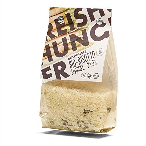 Reishunger Bio Risotto-Fertigmischung mit Spargel (250g) - erhältlich als 1er bis 8er Pack
