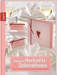 Traumhafte Hochzeits-Dekorationen: Einladungskarten, Tischdekorationen und mehr