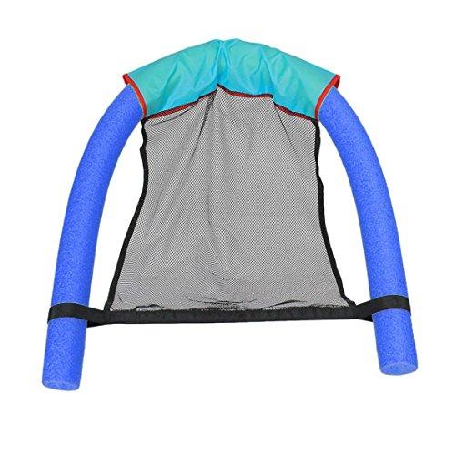 Happy Event Schwimmender Stuhl Schwimmbad Sitzplätze Pool Schwimmender Bett Stuhl Pool Nudel Stuhl (Blaues)