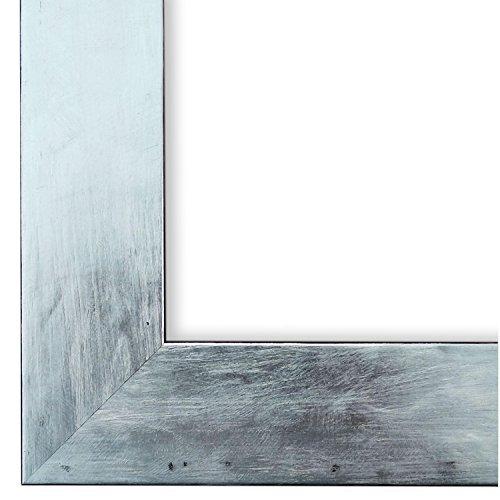 Online Galerie Bingold Bilderrahmen Silber 70x80-70 x 80 cm - Modern, Retro, Vintage, Shabby - Alle Größen - handgefertigt in Deutschland - WRF - Lecce 4,0